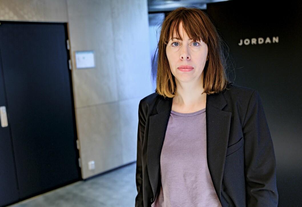 Sjefredaktør og administrerande direktør Anna B. Jenssen i Morgenbladet.