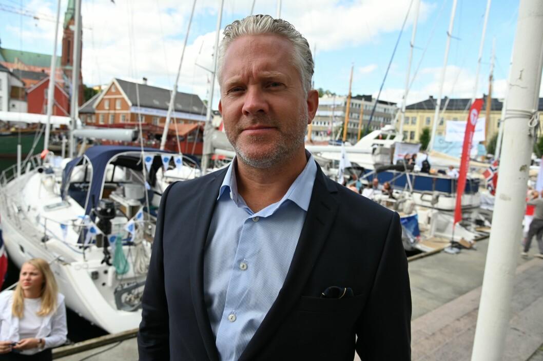 Retriever-sjef Espen Viskjer. Her på Arendalsuka 2019.