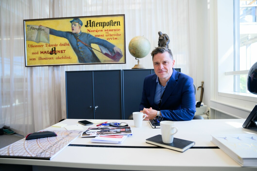 Aftenpostens sjefredaktør Espen Egil Hansen.