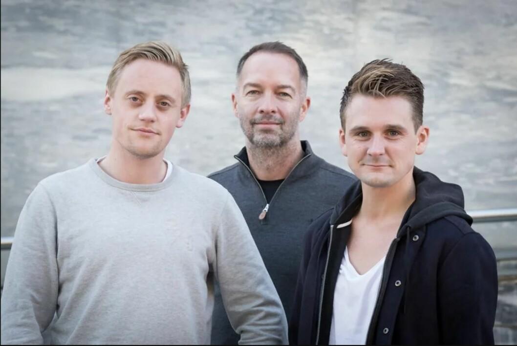 Sjefredaktør i Bodø Nu, Geir Are Jensen (i midten), henter inn Sindre Kolberg (23) og Sondre Skjelvik (28) som redaktører.