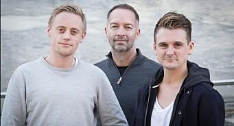 Sindre Kolberg (23) og Sondre Skjelvik (28) blir redaktører i Bodø Nu