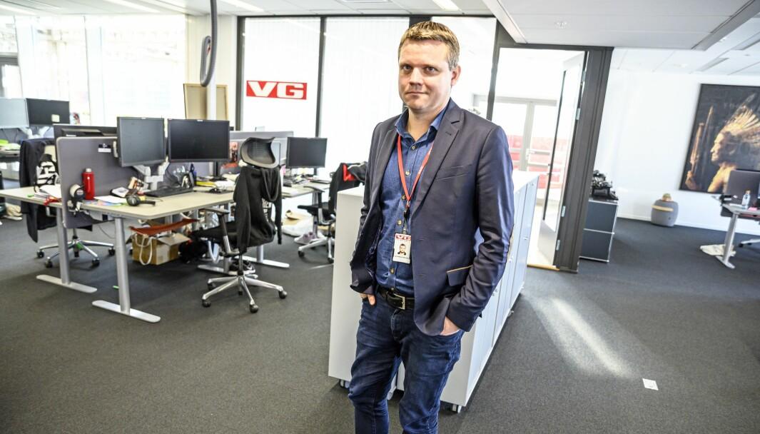 Lars Håkon Grønning ble fredag bekreftet som E24s nye sjefredaktør.