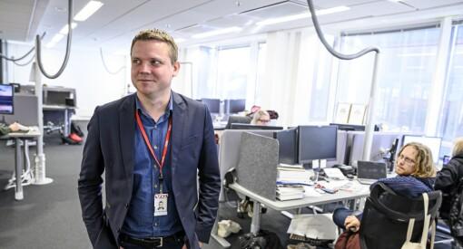SISTE: Lars Håkon Grønning blir sjefredaktør i E24