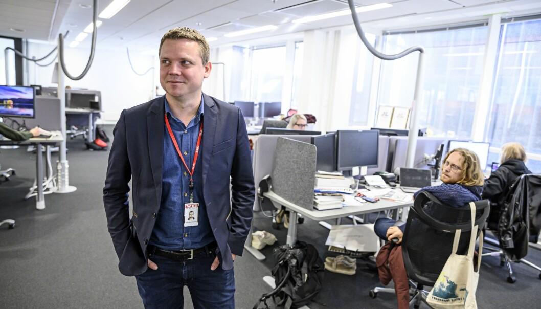 E24s sjefredaktør Lars Håkon Grønning, her avbildet i VG-tiden sin.