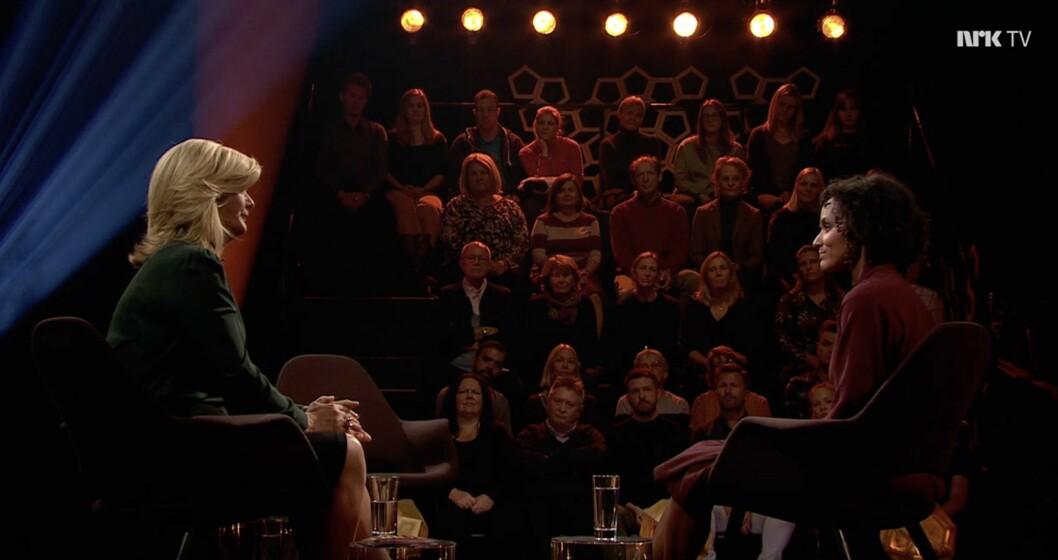 Haddy Njie gjestet Lindmo på NRK