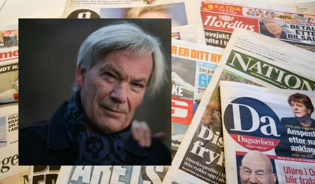 Leif Drillestad mener norske medier er for avhengig av statsstøtte.