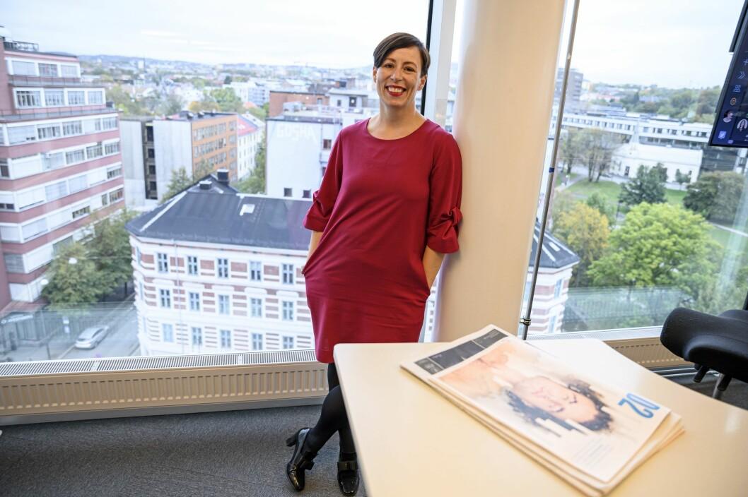 DNs redaktør for publisering og visuell journalistikk, Ingeborg Volan, skal jobbe tett opp mot NCE og Media City Bergen.