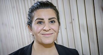 Ronja Omar (30) har aldri stått på en scene før. Nå løftes hun fram foran flere hundre på Mediekonferansen