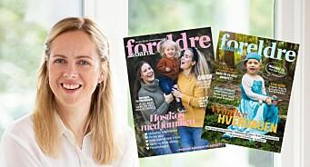 Redaktør for Foreldre & Barn: – Vi har et ansvar for å vise mangfold blant norske familier