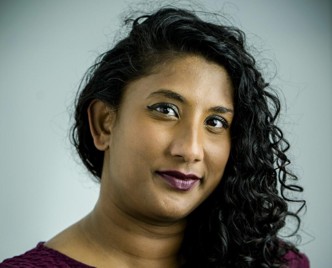 Jatushiga Bridget Rajah (36) ble nylig valgt til leder i Oslo Journalistklubb.