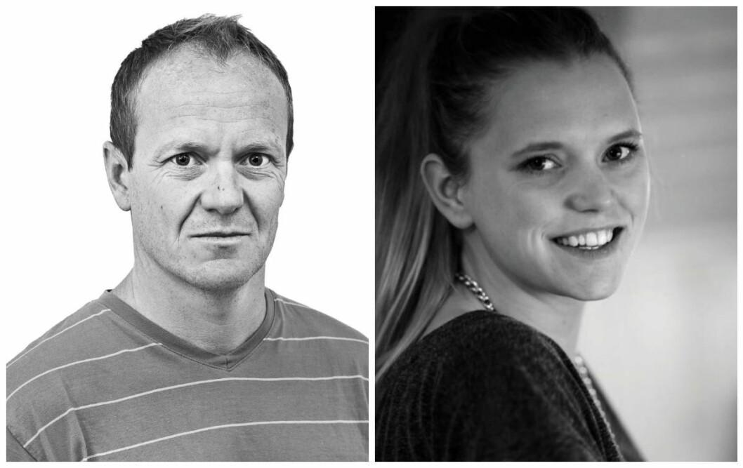 Bjørn Asle Nord og Tonje Oliversen er i dag blitt ansatt i NRK.