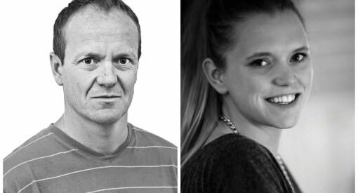 Journalistene Bjørn Asle Nord og Tonje Oliversen ansatt i NRK