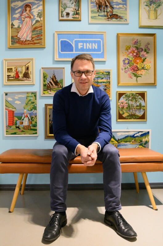 Finn.no-sjef Christian Printzell Halvorsen.