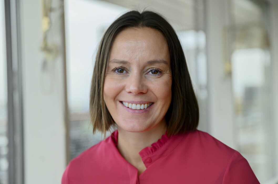 Egmont-sjef Nina Vesterby.
