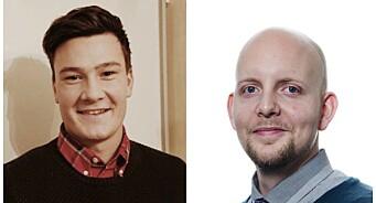 Øystein Eian (36) og Martin Thorland Jutkvam (24) ansatt som journalister i Nordstrands Blad