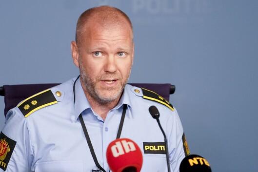 Seksjonssjef Rune Skjold ved Oslo politidistrikt.