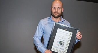 Gull & Gråstein-prisen til Thomas Frigård: – En imponerende stahet og stå-på-vilje