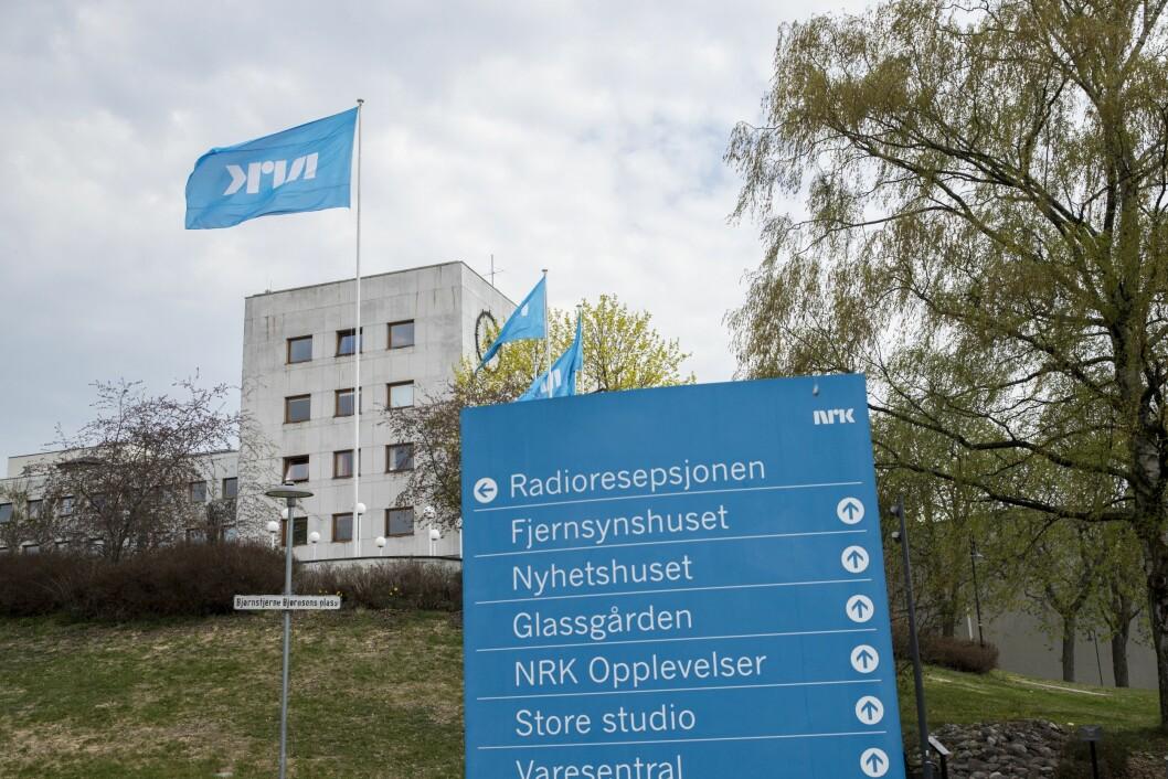 NRK-bygget på Marienlyst ble preget av store tekniske problemer mandag kveld.