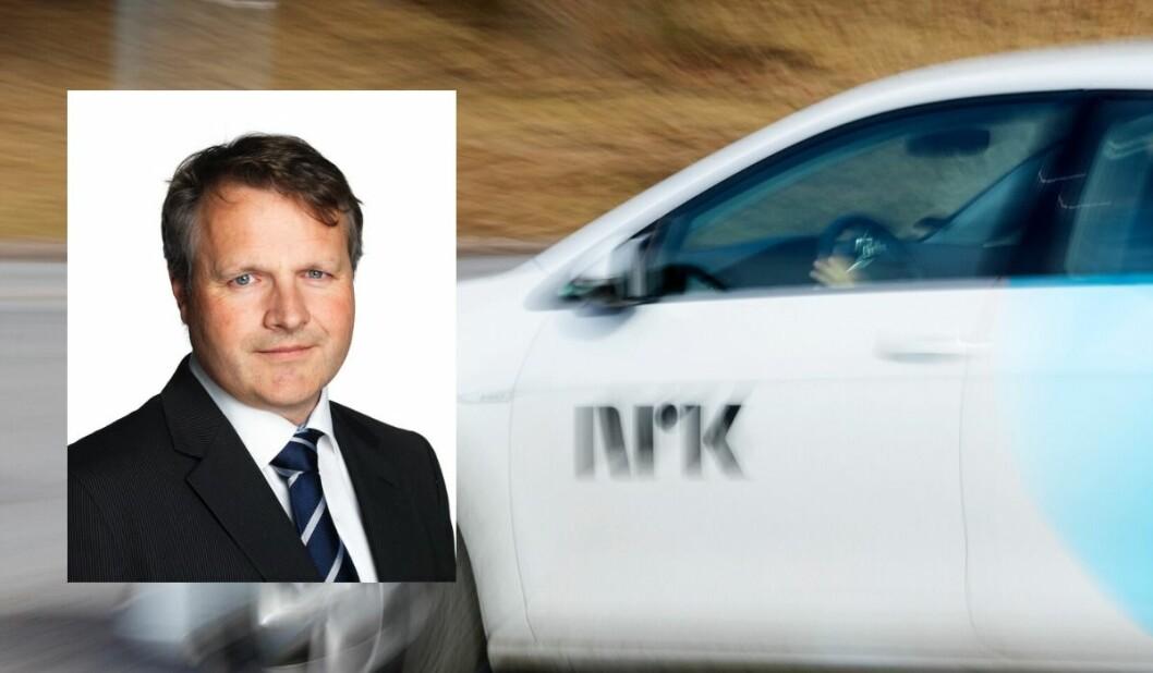 Andres Rikter, konserndirektør for kommunikasjon og samfunnsansvar i Bertel O. Steen reagerer på NRKs anbudskonkurranse.