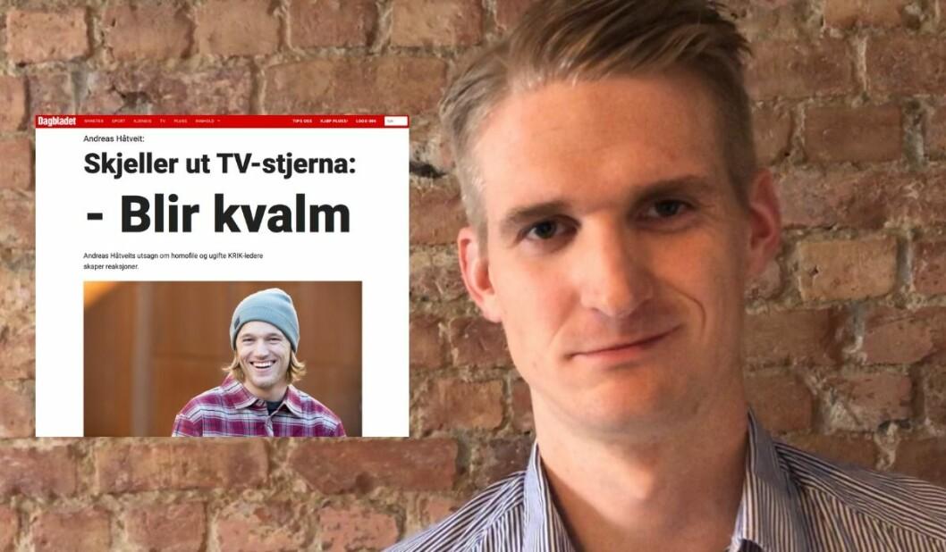 Vegard Tjørhom reagerer på Dagbladet si dekning av KRIK-konfliken.