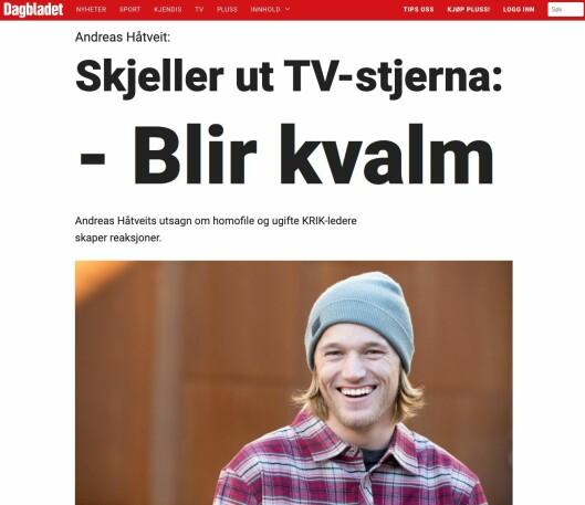Slik ser Dagbladet-saken ut