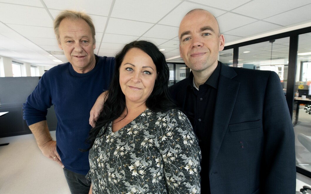 Tore Feiring, Sol Vår Haukaas Olsen og Tom Martin Kj. Hartviksen