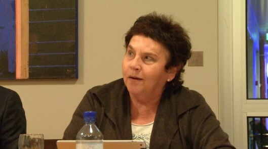 Tove Karoline Knutsen i Kringkastingsrådet 24. oktober.