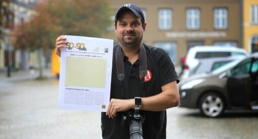 Gunnar Paulsen (41) ansatt som journalist i Halden Arbeiderblad