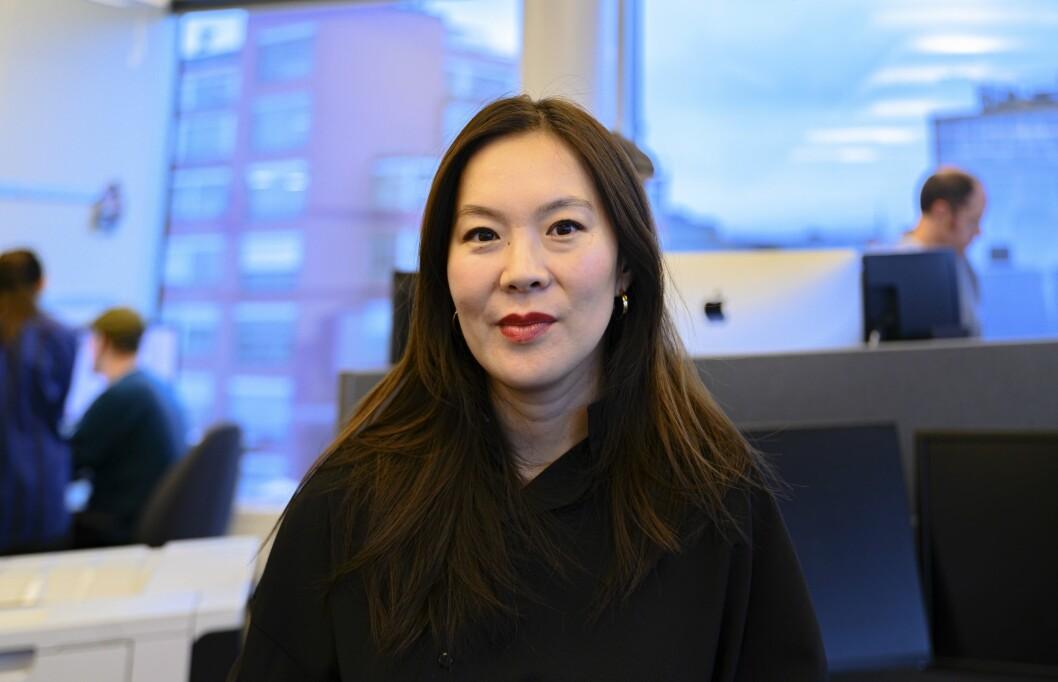 – Strategien ligger fast. Vi må digitaliseres, sier Sun Heidi Sæbø. Det betyr ikke at papiravisa skal dø: – Papiravisa skal leve videre i beste velgående. Den skal forvaltes med kløkt, omhu og kjærlighet.