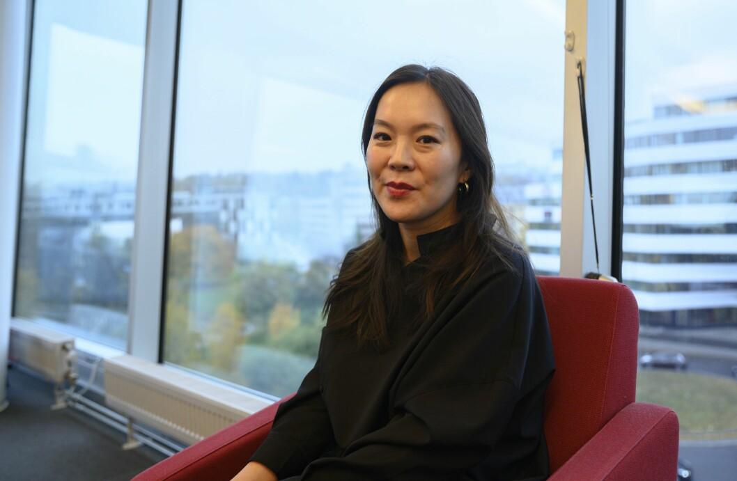 Morgenbladets konstituerte redaktør Sun Heidi Sæbø