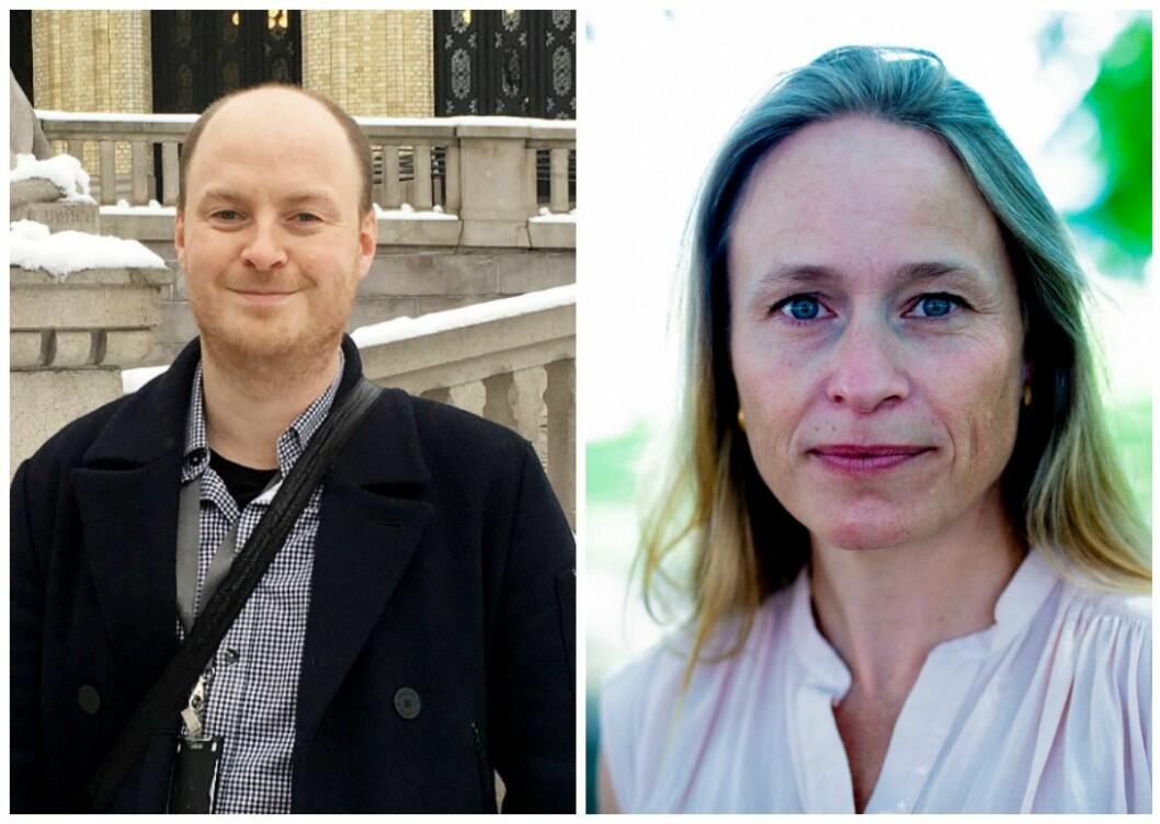 Klubbleder Sivert Rossing og sjefredaktør Irene Halvorsen i Nationen forbereder seg på omstillingsprosesser fremover.
