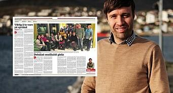 Finnmark Dagblad har publisert sin første leder på samisk noensinne: – Vi må ta vare på samiske språk