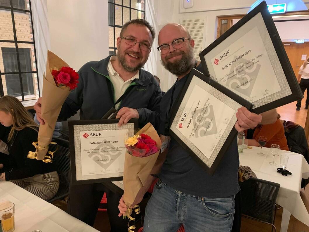 Dagbladet vant fjorårets Data-SKUP-pris. I år blir ikke prisen delt ut.