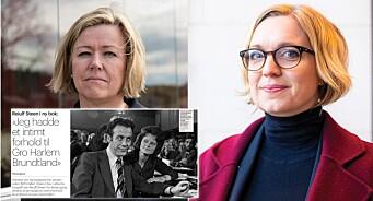 Aftenposten slår opp 40 år gamle rykte, medan NTB utelét detaljane: –Me skal ikkje driva ryktespreiing