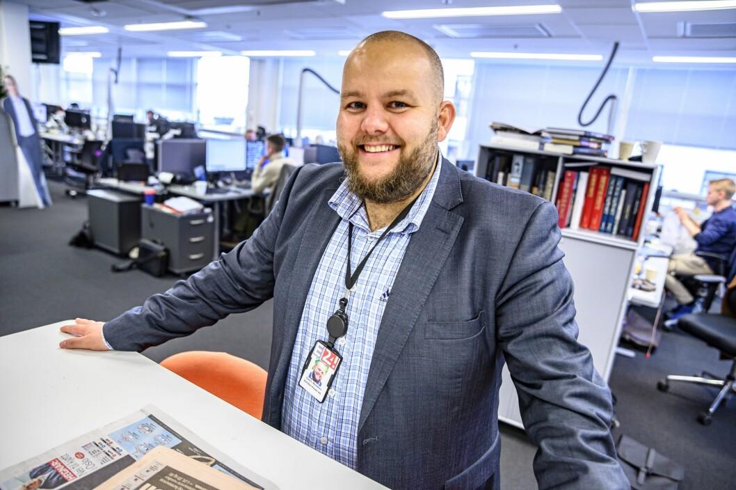 Gard L. Michalsen skal lede den redaksjonelle delen av Schibsteds nye finanssatsing.