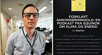 Forklarts omdiskuterte annonsepodkast er klaget inn til PFU