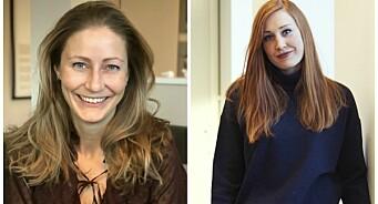 Line Kolstad(36) og Kristin Edvardsen(30) hentes til DNB Nyheter