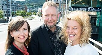 Ansettelses-boom i Drammens Tidende: Janne Sundelius Braathen blir nyhetsredaktør