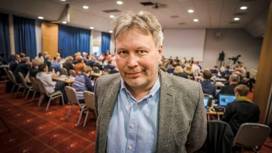 Skjalg Fjellheim, politisk redaktør i Nordlys.