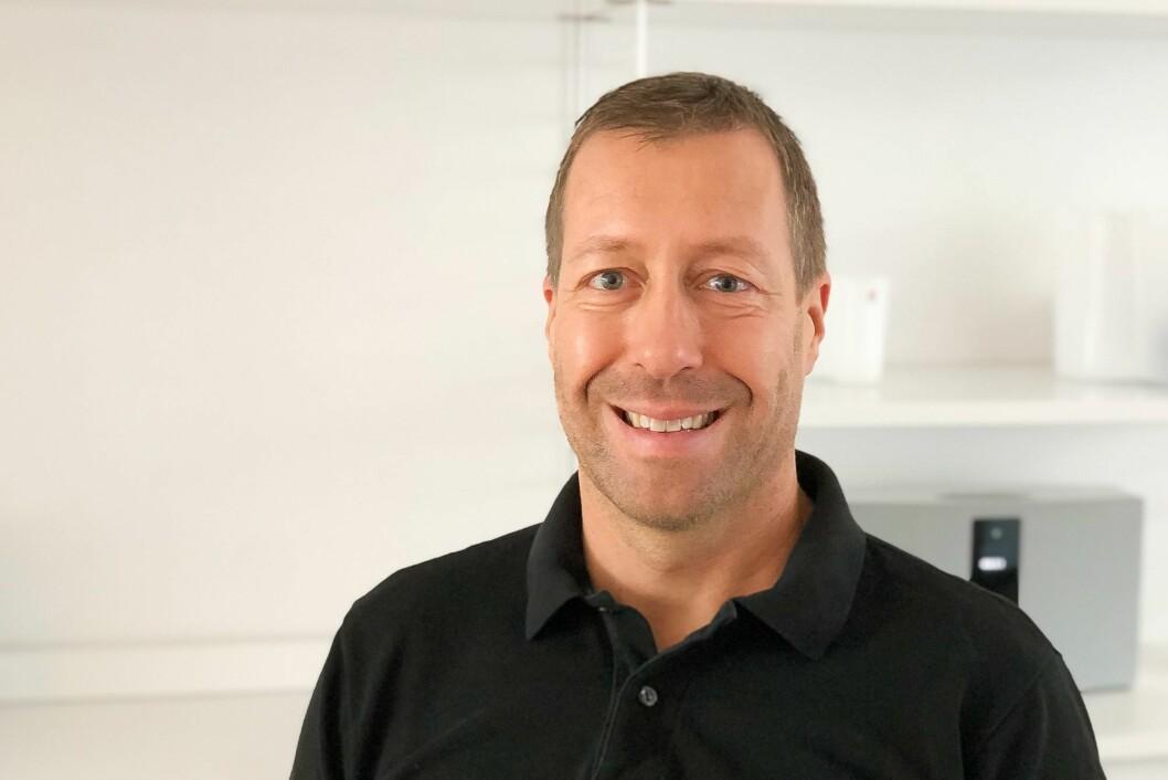 Christian Lindhoff blir teknologidirektør.