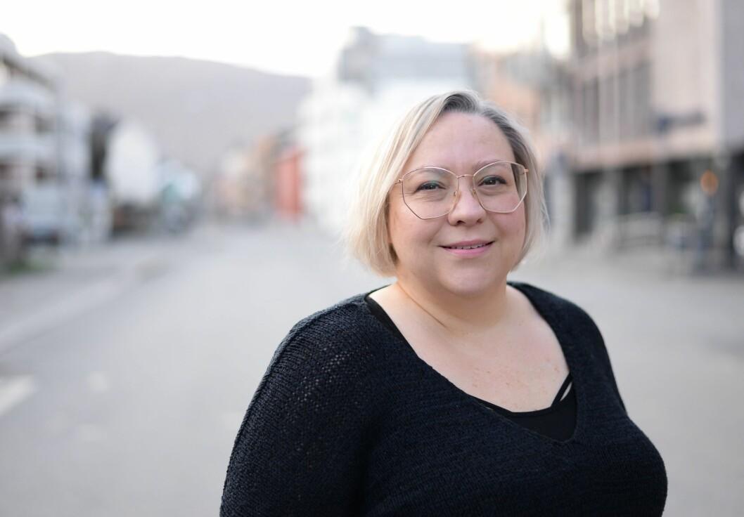 Journalist i Fremover og leiar i Hålogaland journalistlag, Ann-Kristin Hanssen.