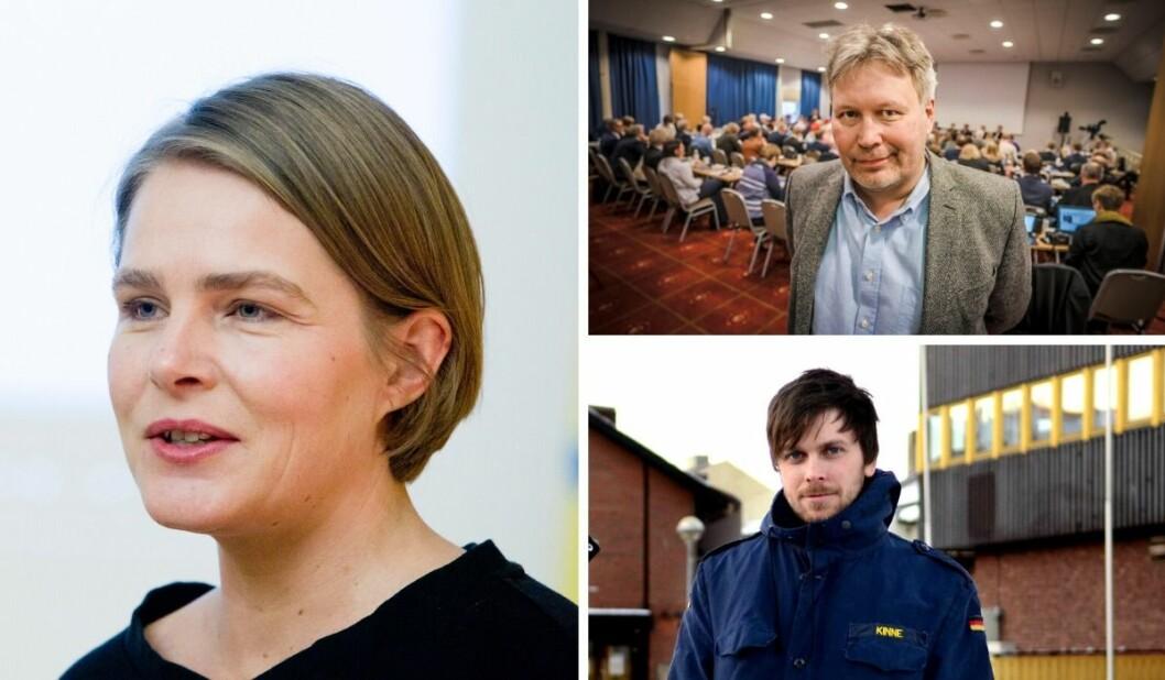 Hege Ulstein svarer på kritikken som har kommet i etterkant av at hun trakk seg som paneldeltaker under en debatt om #metoo på Svarte Natta-konferansen. Foto: NTB Scanpix/Ksenia Novikova (NRK)/privat