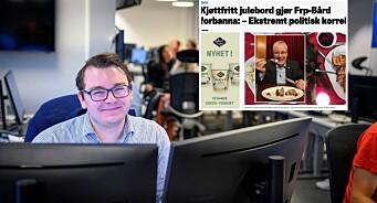 Espen Teigen skrev sak om Sylvi Listhaug og Bård Hoksrud. Det får presseekspert til å reagere