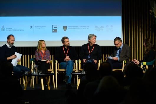 Trond Giske, Elin Sørsdahl, Trygve Aas Olsen, Erik Stephansen, Kjetil B. Alstadheim og Anki Gerhardsen.