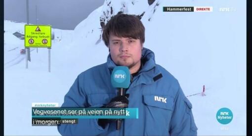 Eskil Wie Furunes slutter i Journalisten for fotojobb i NRK: – Å bare intervjue journalister ble litt mye for meg