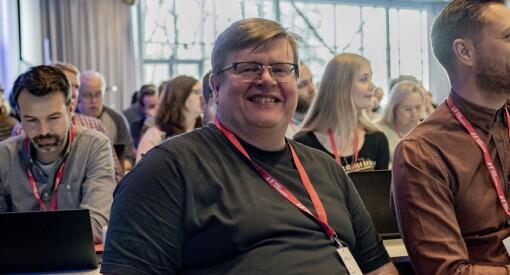 Rolf Johansen gjenvalgt som leder for NRKJ - dette er det nye styret