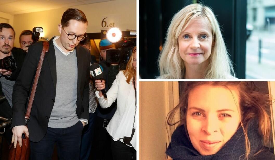 Hanne Østli Jakobsen reagerer på TV 2s intervju med Kristian Tonning Riise. Foto: NTB, Medier24, Privat