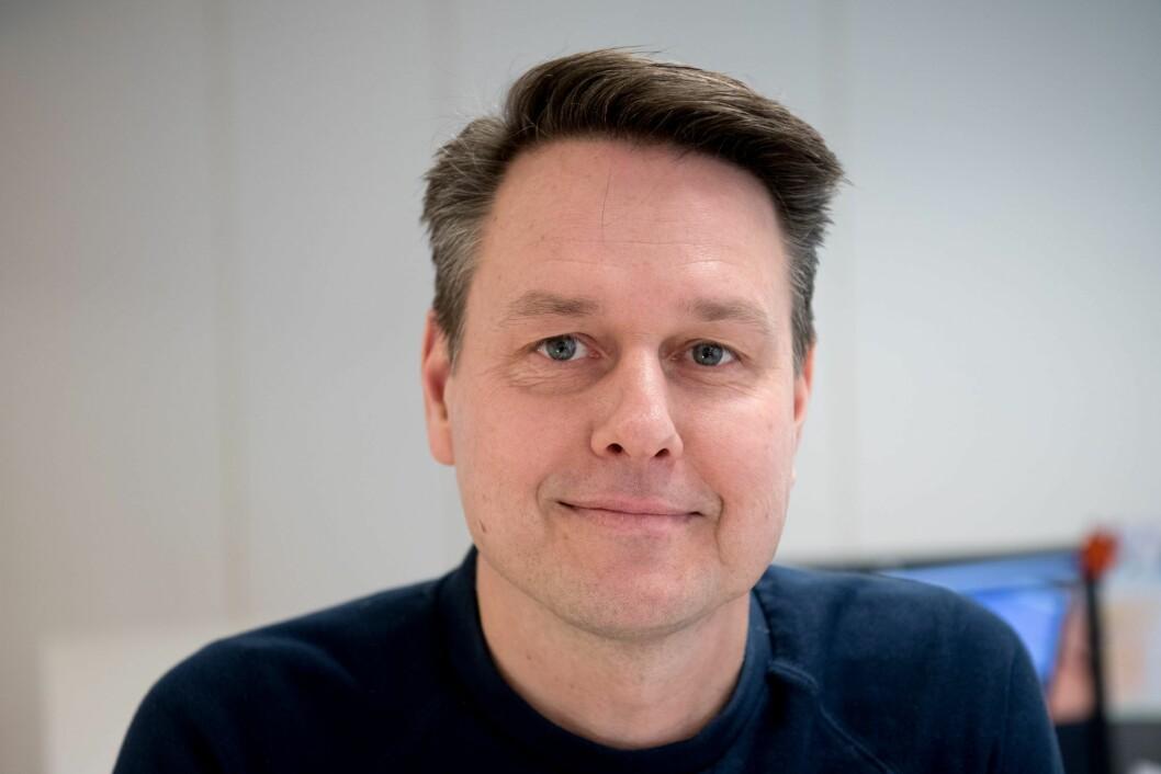 Redaktør Jørund Kopren i TV Vest.