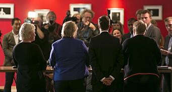 Hvilke partier er oftest omtalt i saker med anonyme kilder? Regjeringspartiene topper statistikken