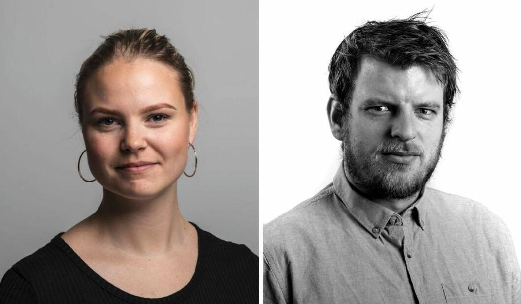 Linnea Oskarsen og Martin Årseth skal styre Klassekampens skute på vestlandet.